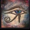 Leinwandbild Auge des Horus