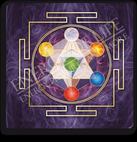 Leinwandbild Würfel des Metatron - Göttliche Anbindung