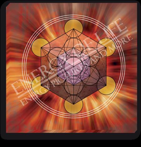 Leinwandbild Würfel des Metatron - Kraft