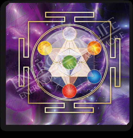 Leinwandbild Würfel des Metatron - Spiritualität