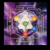 Untersetzer und Heilschablone Würfel des Metatron - Spiritualität