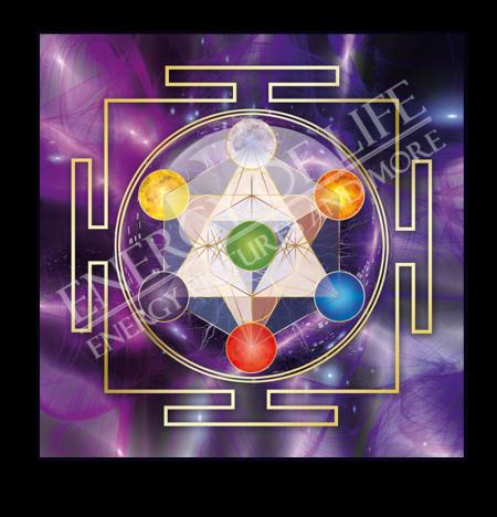 Heilschablone Würfel des Metatron - Spiritualität