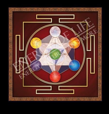 Heilschablone Würfel des Metatron - Erdung