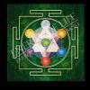 Untersetzer und Heilschablone Würfel des Metatron - Gleichgewicht und Fülle