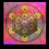 Untersetzer und Heilschablone Würfel des Metatron - Neue Impulse