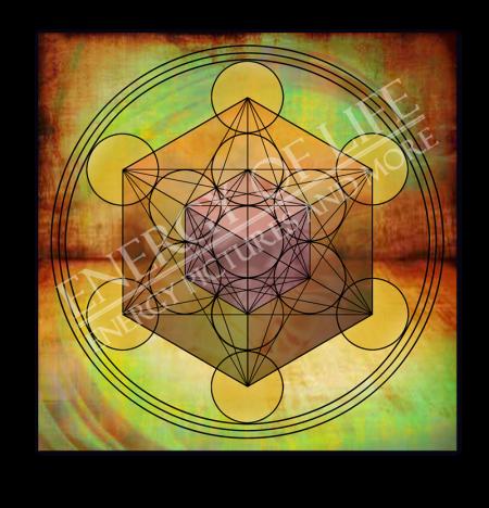 Heilschablone Würfel des Metatron - Innere Weite