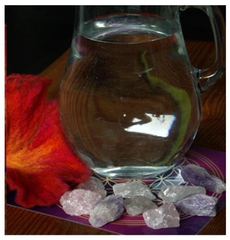 Heilsteinwasser: Grundmischung Quellwasser