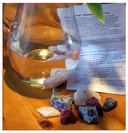 Heilsteinwasser: Mischung Wellness
