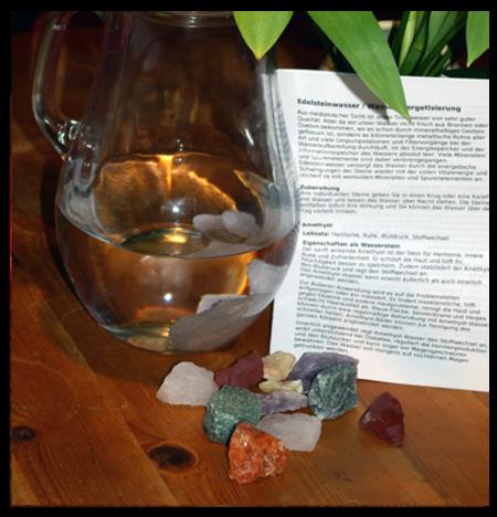 Heilsteinwasser: Mischung Anti Stress