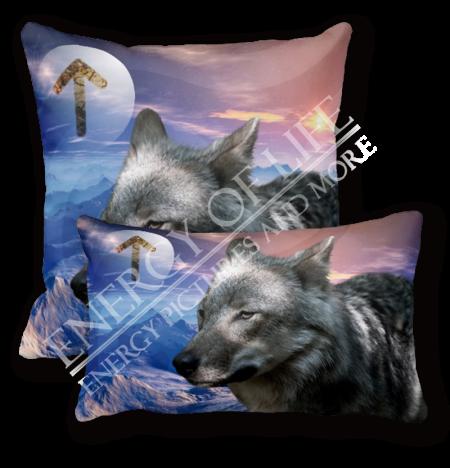 Pro-Nature Relax-Kissen Krafttier Wolf